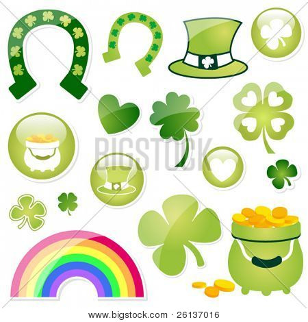 Large Collection of St. Patricks Day Imagery