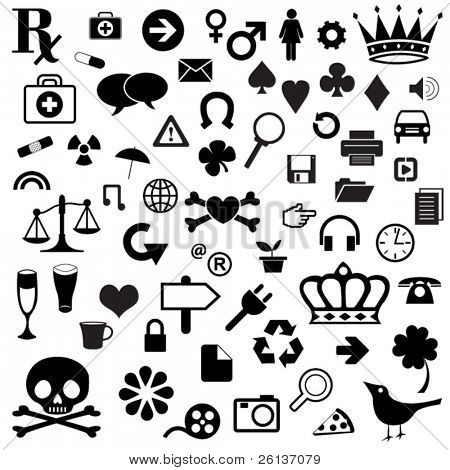 Huge Set of Misc Icons