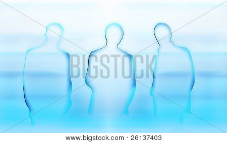 Businessmen Abstract