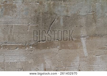 Cracked Cement Wall Damaged Grunge Grime Texture