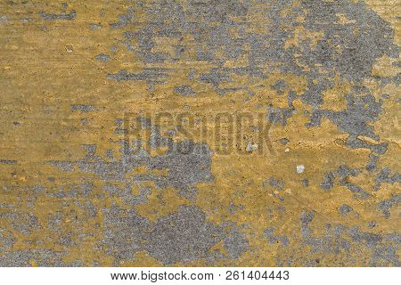 Orange Chipped Paint Grunge Grime Damaged Texture