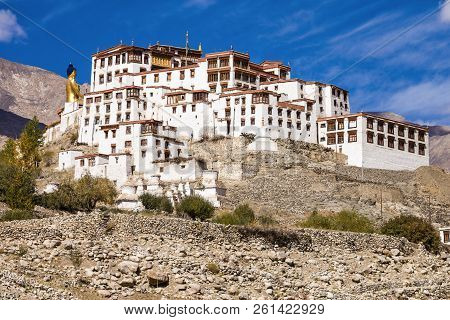 Likir Monastery Is A Buddhist Monastery In Ladakh, India