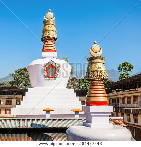 Do Drul Chorten Is A Buddhist Stupa In Gangtok In The Indian State Of Sikkim