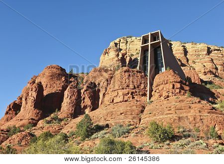 A View Of The Chapel Of The Holy Cross, Sedona, Arizona