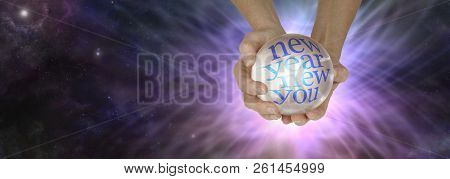 Find Out What The New Year Holds With A Crystal Ball Reading - Female Holding Crystal Ball Showing N
