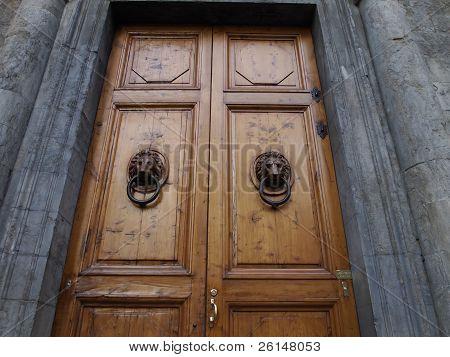 Wooden Tuscan Doors