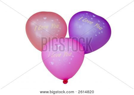 Balloons. I Love You.