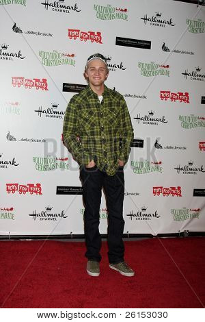 LOS ANGELES - NOV 27:  Jason Dolley arrives at the 2011 Hollywood Christmas Parade at Hollywood Boulevard at Sycamore on November 27, 2011 in Los Angeles, CA