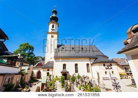 Parish Church Of St. Aegydius And Cemetery Pfarrkirche Hl. Agydius Sankt Gilgen Und Friedhof In St G