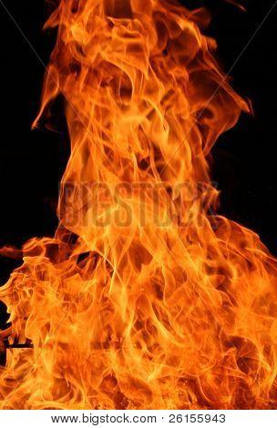 Flame detail