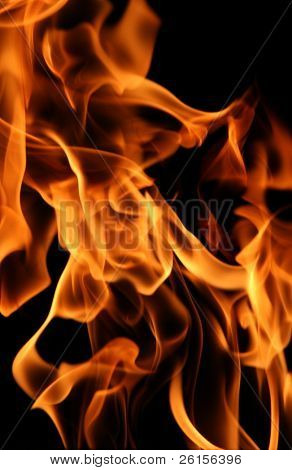 Fluid flame detail