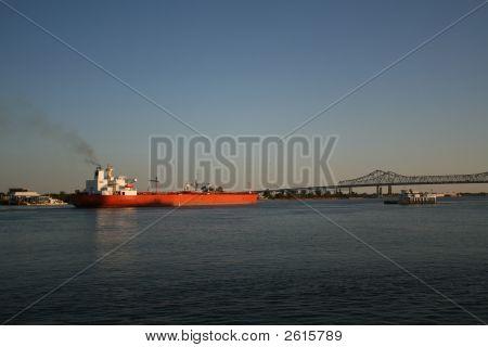 Empty Oil Tanker