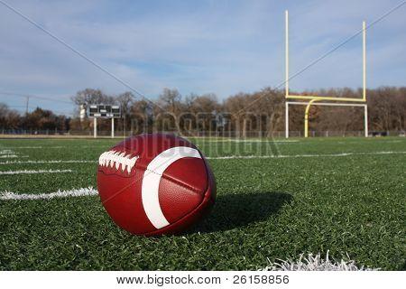 American Football auf dem Feld