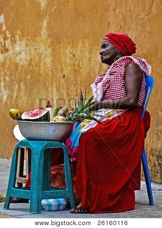 Palenquera Fruit Seller