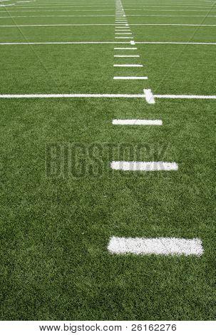 Yard Lines of a Football Field