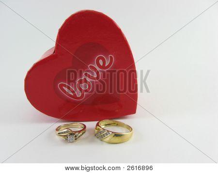 Love box rings