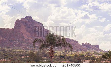 Camelback Mountain range in ,Scottsdale,Phoenix,Arizona,USA