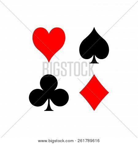 Icon Playing Card, Icon Card Game, Games Card, Playing Card Vector Image