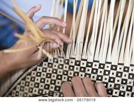 Bamboo weaving
