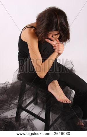 A Melancholoy Woman