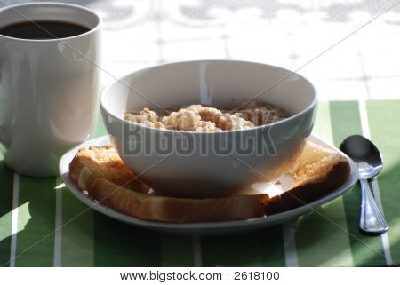 Oatmeal And Toast