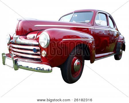 1946 V8 Deluxe isolated with clipping path