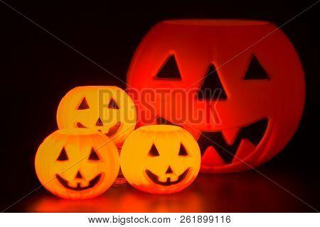 Halloween Night Scene