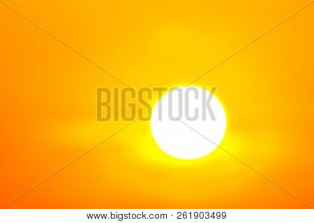 Heatwave Hot Sun, Makes Heat Stroke, Danger