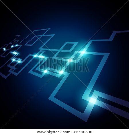 EPS10 Bunte Vektor Netzwerkdesign