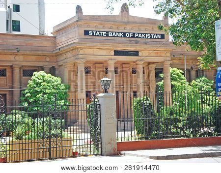 State Bank Of Pakistan - Beautiful Building In Karachi Pakistan 12/04/2009