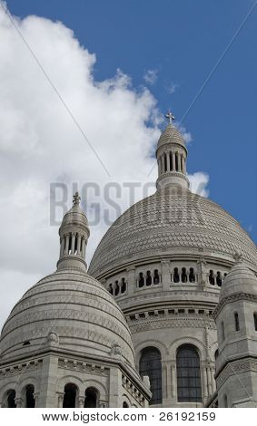 Dome of Sacred Heart Basilica, Paris