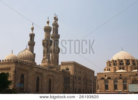 Al Azhar Muslim University and mosque, Sunni Islam's highest seat of learning poster