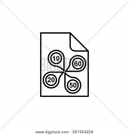 Business Diversification, Basket, Money, Invest, Infographics Icon. Element Of Money Diversification