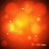 EPS10 Colorful Circle Abstract Vector Illustration poster