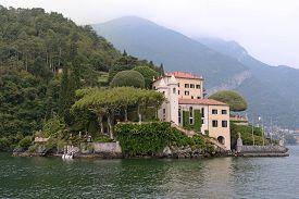 The Villa Del Balbianello On Lake Como, Italy