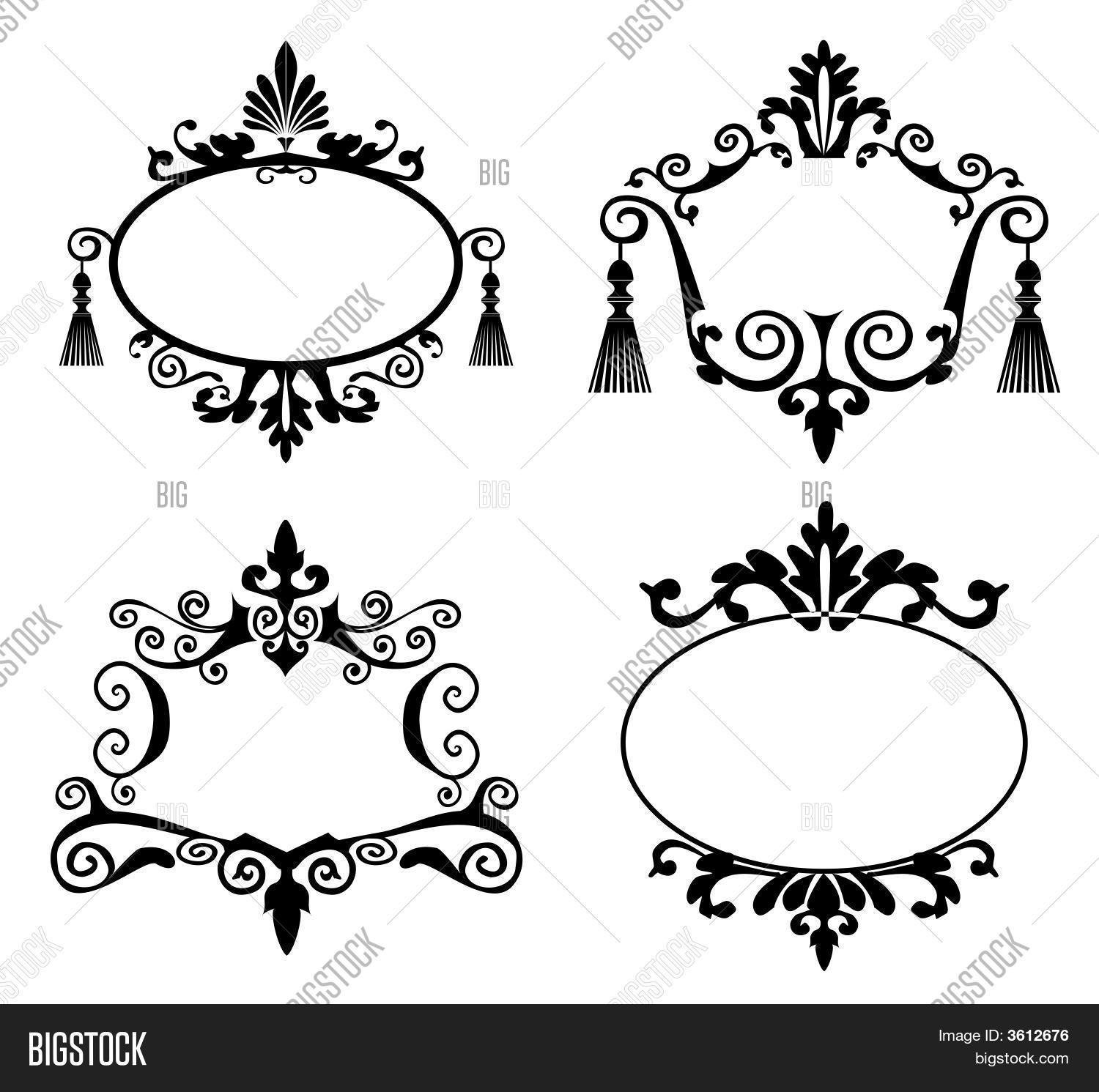 Decorative Frames Vector & Photo (Free Trial) | Bigstock