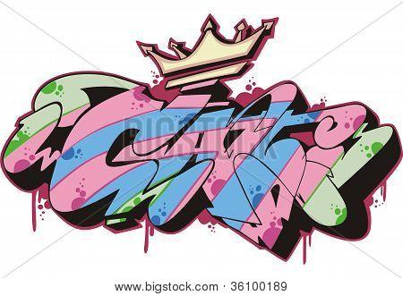 Graffito - Cat