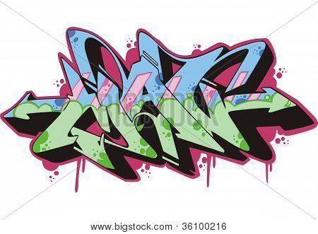 Graffito - Man