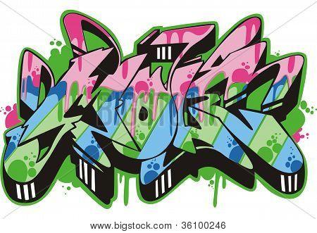 Graffito - Mole