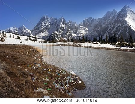 Plastic In The Alps, Poster.