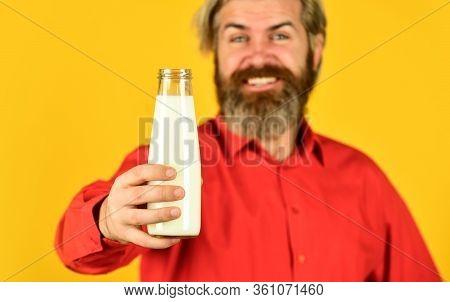 Pasteurized Milk. Vegan Milk Concept. Drink Protein Cocktail. Shop Advertisement. Healthy Habits. Pr