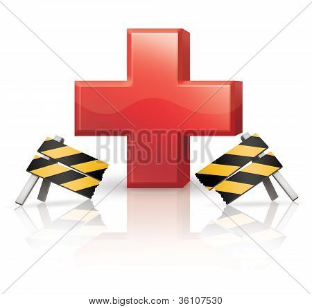 Broken Barrier to Health Care