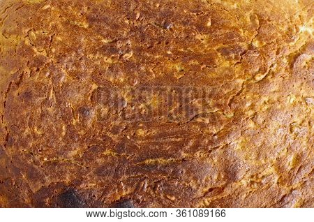 Bread Crust Abstract Background Pattern