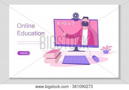 Online School Studies From Home, University Remote Learning, Getting A Degree By Taking Online Cours
