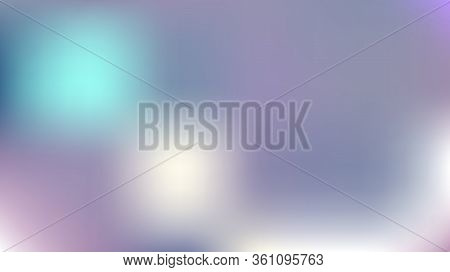 Contrast Mesh Vector Background, Hologram Gradient Overlay. Dreamy Pink, Purple, Turquoise Glamour F