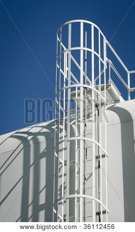 Water Storage Tank Ladder