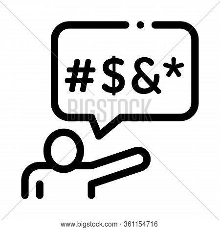 Human Replica Mats Icon Vector. Human Replica Mats Sign. Isolated Contour Symbol Illustration