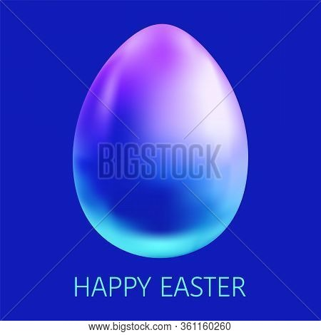 Happy Easter Background Template. Premium Vector Illustration.