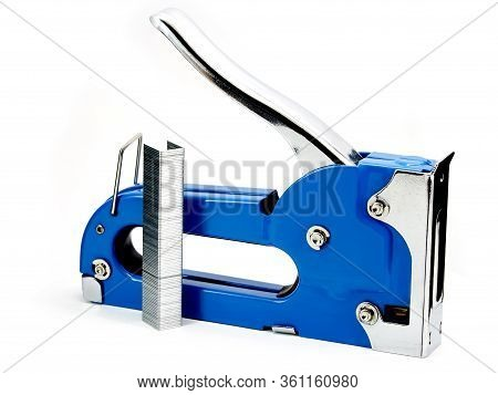 A Furniture Stapler Is An Indispensable Hand Tool That Is Needed For Fastening Surfaces And Repairin