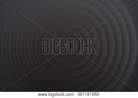 Abstract Round Background. Circles From The Center Point. Image Of Diverging Circles. Rotation That